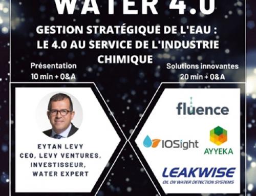 REPLAY – [Webinaire] Water 4.0 – Gestion stratégique de l'eau : Le 4.0 au service de l'industrie chimique