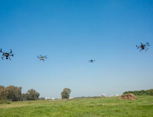 Etablierung eines israelischen Drohnen-Netzwerks
