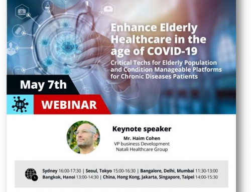 "This Thursday, 7 May 2020 at 14:00-15:30 HKT- Join us for a ""Special Live Webinar – Enhance Elderly Healthcare in the age of COVID-19"""