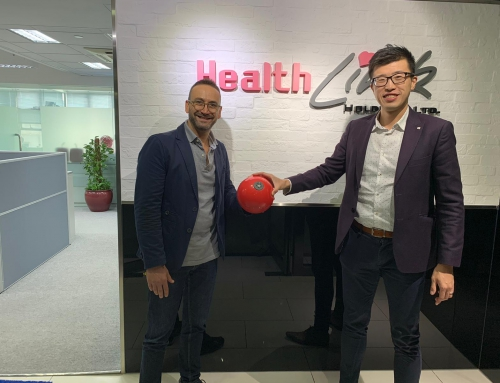 "CONGRATS to PLAYWORK – launching ""PLAYBALL"" – The Smart Therapy Exercise Ball in Hong Kong!!"