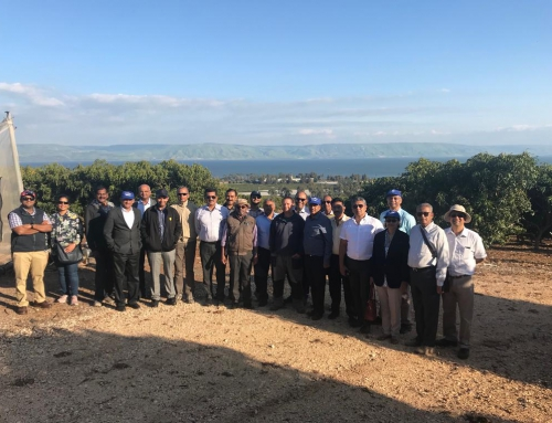 UPASI DELEGATION IN ISRAEL – 9.3.2019 – 16.3.2019