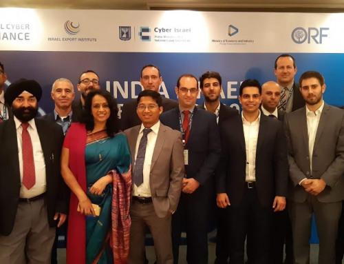 Cyber Edge – Israeli Cyber Delegation visit to India, 16–17 December 2019