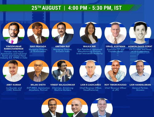 India – Israel Dialogue on Driving Change through Innovation