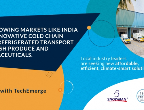 IFC's TechEmerge Program has launched an open call for innovators worldwide to bring energy-efficient, affordable, climate-smart solutions for temperature-controlled logistics to India