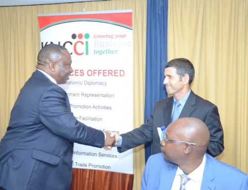 Cooperating with the Kenya National Chamber of Commerce & Industry
