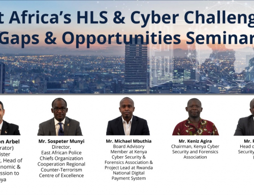[Video] Israel HLS & Cyber 2020 Conference Side Event – East Africa