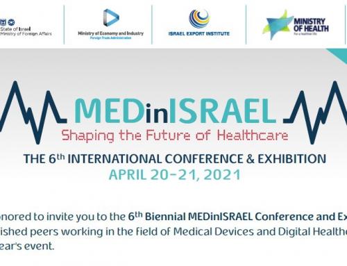 MedInIsrael – Expozitie Medicala Internationala, TLV – 20-21 Aprilie