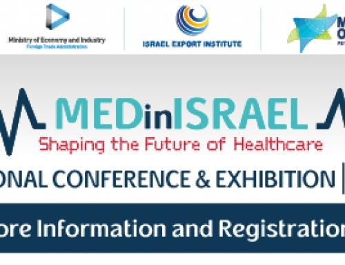 Expozitia de Echipamente Medicale MedinIsrael 2021 – 20-21.04