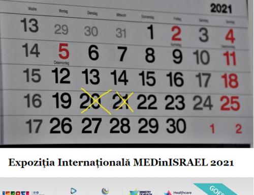 Expozitia Medicala Internationala MEDinISRAEL 2021