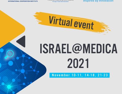Delegatia Israelului la MEDICA 2021 Düsseldorf