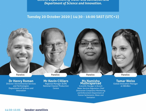 Invitation: Water efficiency innovation in the time of COVID-19