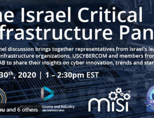 Cybersecurity and Critical Infrastructure – the Israeli Story