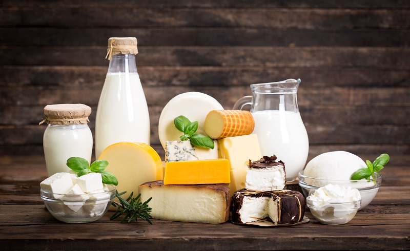 Various,Dairy,Products