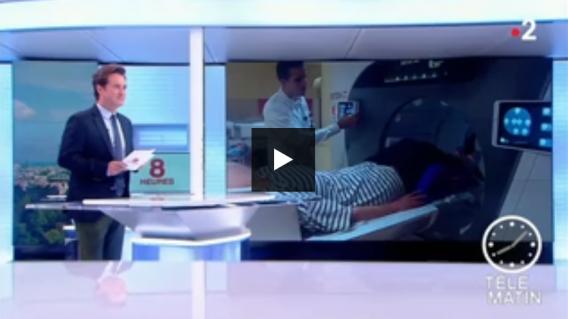 Le CHU de Caen, premier hôpital au monde à se doter d'un scanner 3D à 360°